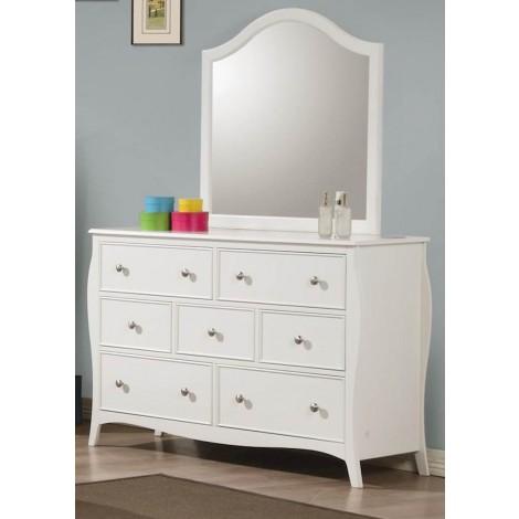 Dominique White Mirror