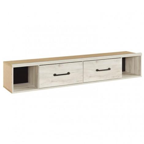 Cambeck Whitewash Twin/Full Under Bed Storage