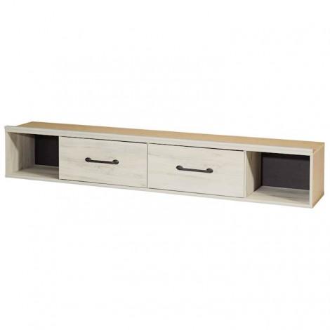 Cambeck Whitewash Queen/King Under Bed Storage
