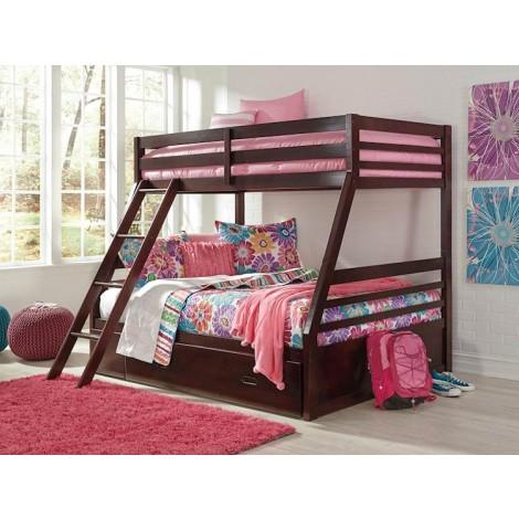 Halanton Dark Brown Under Bed Storage