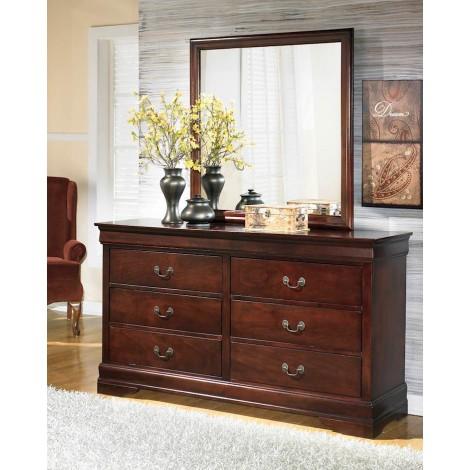 Alisdair Dark Brown Bedroom Mirror