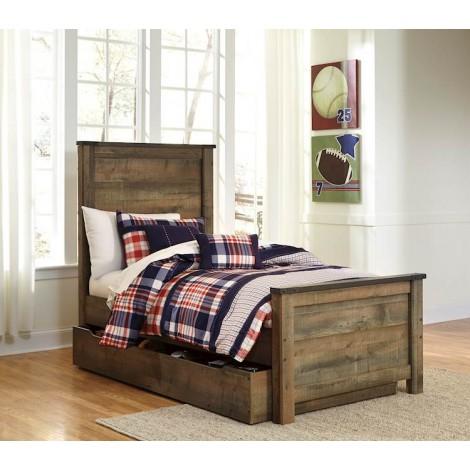 Trinell Brown Under Bed Storage