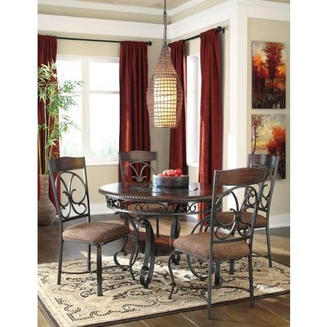 Glambrey Brown Dining Room Set