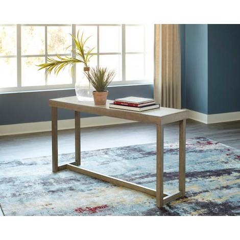 Challene Light Gray Sofa Table
