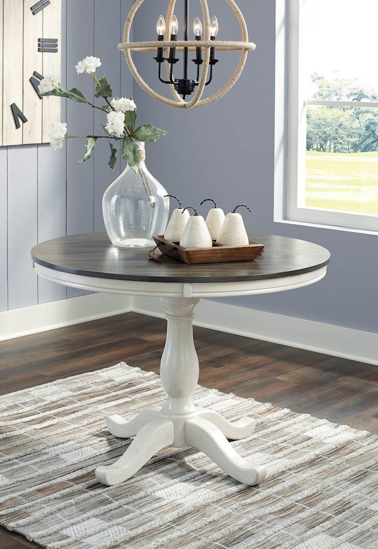 Nelling Two Round Dining Room Table Top   SpeedyFurniture.com