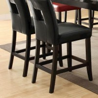 Black Dining Room Counter Height Chair