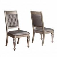 Bling Game Metallic Side Chair