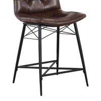 Brown Dining Room Counter Height Chair
