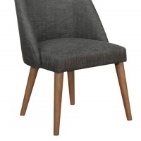 Dark Grey Dining Chair