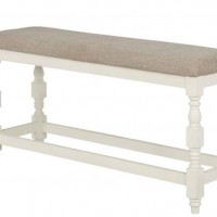 Oatmeal Dining Room Bench