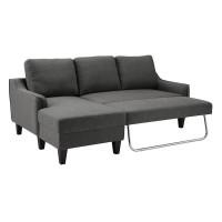 Jarreau Gray Sofa Chaise Sleeper