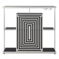 Glossy Black Bar Unit