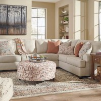Amici Linen Sectional Living Room Group