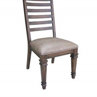 Brown Hot Pressed Dining Room Side Chair