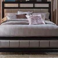 Barzini Bedroom Grey California King Bed