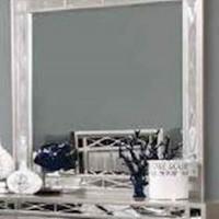 Leighton Metallic Mercury Mirror