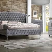 Deanna Bedroom Grey Nightstand