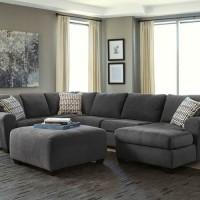 Ambee Slate Sectional Living Room Group