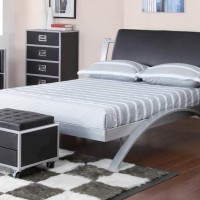 Leclair Black Full Bed