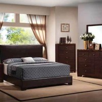Conner Dark Brown Full Bed