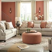 Almanza Wheat Living Room Group