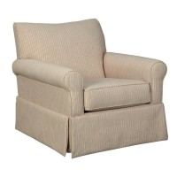 Almanza Wheat Swivel Glider Accent Chair