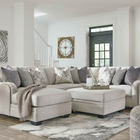 Dellara Chalk Sectional Living Room Group