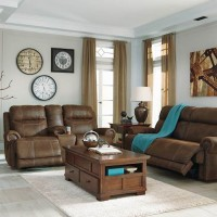 Austere Brown Living Room Group
