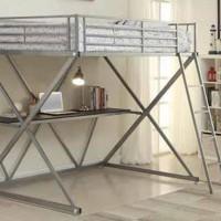 Workstation Loft Collection Bedroom Set