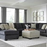 Eltmann Slate Sectional Living Room Group