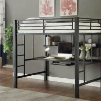 Workstation Loft Black Bunk Bed