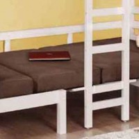 Joaquin Convertible Brown Bunk Bed