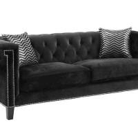 Abildgaard Bedroom Black Sofa