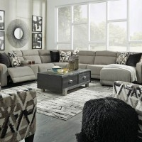 Colleyville Stone Sectional Living Room Group
