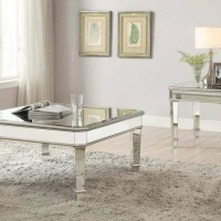 Cairns Silver Coffee Table
