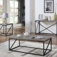 Sonoma Grey Sofa Table