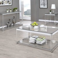 Clear Sofa Table