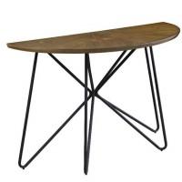 Dark Brown/Black Sofa Table
