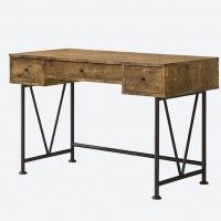 Glavan Antique Nutmeg Writing Desk
