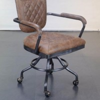 Antique Brown Office Chair