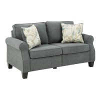 Alessio Charcoal Loveseat