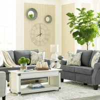 Alessio Charcoal Living Room Group