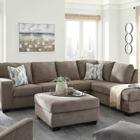 Dalhart Hickory Sectional Living Room Group