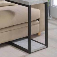 Cement Accent Table
