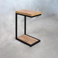 Golden Oak Accent Table
