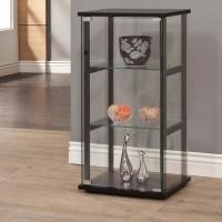 Black Curio Cabinet