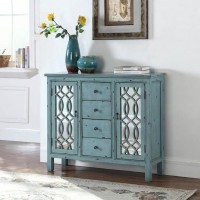 Blue Accent Table