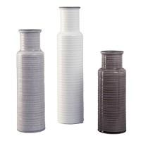 Deus Gray/White/Brown Vase Set (Includes 3)