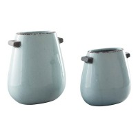 Diah Blue Vase Set (Includes 2)
