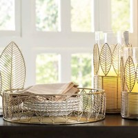 Dimity Gold Finish Accessory Set (Includes 5)